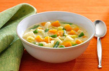Conheça a Dieta da Sopa